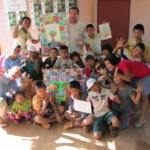 Oliver Masmonteil as an volunteer at CSF Thailand