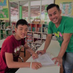 Kru Chey, teacher at Children's Shelter Foundation