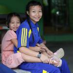 Girls of our aid project CSF Chiang Mai