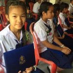 last school day and certificates at csf thailand