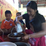 children's bakery - activities in csf chiang mai - children's aid project