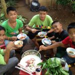 boys group at csf thailand - aid project for hilltribes