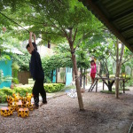 playground at children's shelter foundation thailand