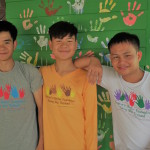 elder boys in vocational training electrics and care taker at csf thailand