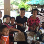 baking a cake in csf thailand - non profit organization