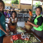 todays duty to prepare lunch for the group, csf thailand