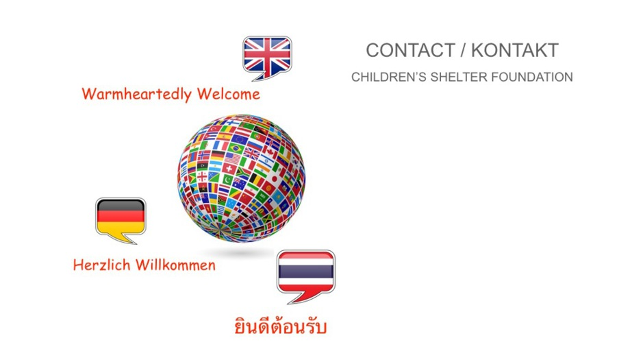 Contact Children's Shelter Foundation Thailand