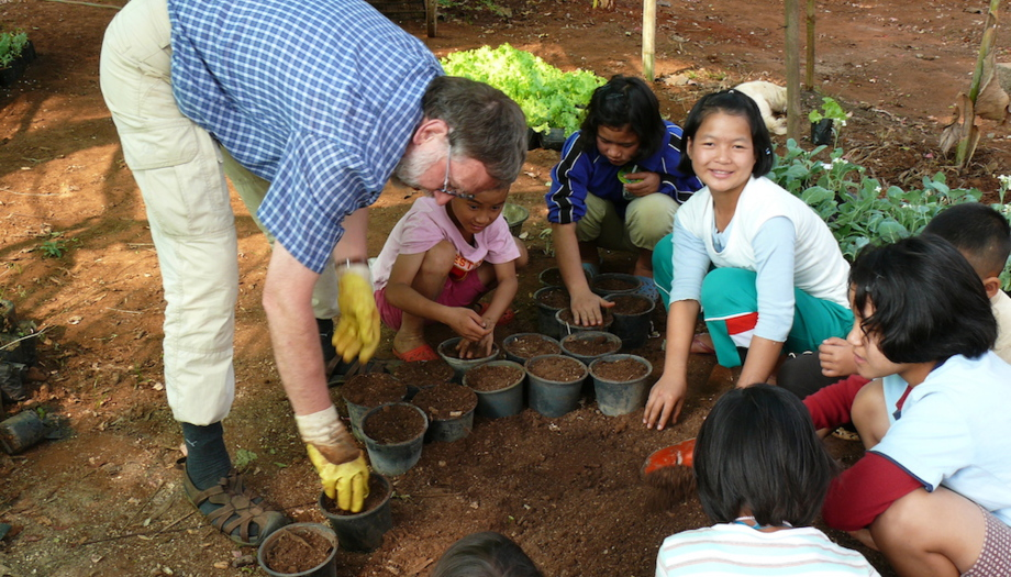 lung heiko - expert for organic farming at csf chiang mai