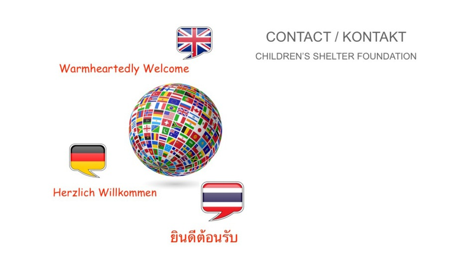 Contact Children's Shelter Foundation Thialand